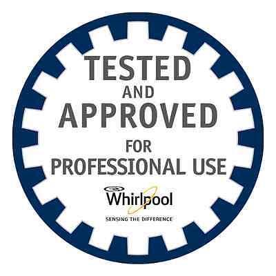 marchio qualità professionale da inserire in schede tecniche lavatrici e asciugatrici professionali whirlpool
